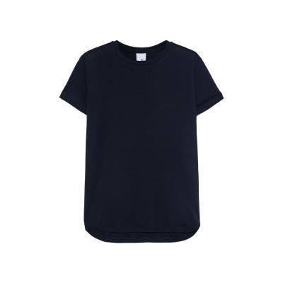 IRIS & INK T シャツ ダークブルー S テンセル 100% T シャツ