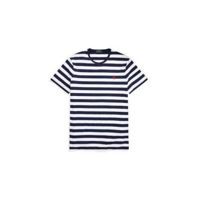ポロラルフローレン POLO RALPH LAUREN カスタムスリムフィット Tシャツ (WHITE)