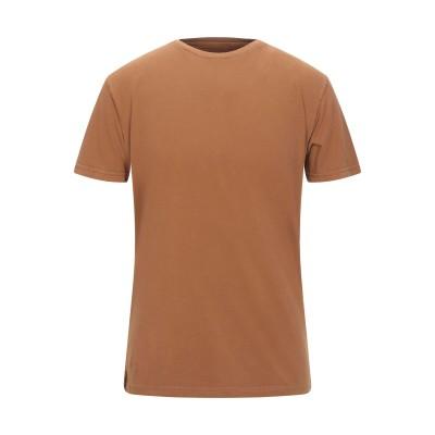 トネッロ TONELLO T シャツ キャメル S コットン 100% T シャツ