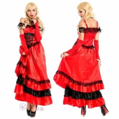 ラテンダンス プリンセスワンピース cosplay衣装 コスチューム コスプレ 仮装 ハロウィン レディース 大人用 ゲーム衣装 パーティー Hall