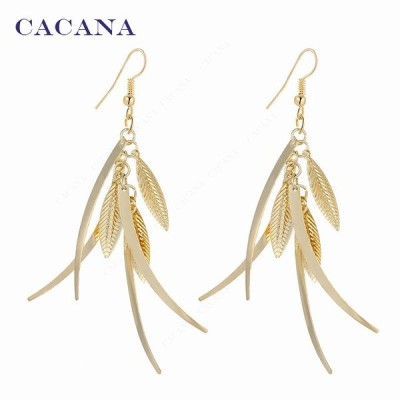 Cacana ブラブラ レディース 最 高品質 ファッション 宝石類 リングピアス イヤーカフ フェイクピアス イヤリング