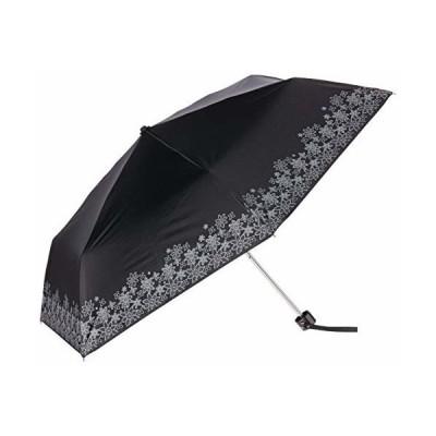 (ムーンバット) COOL UV(クールユーブイ) 遮光 婦人折りたたみ日傘 フラワーレースプリント パラソル 紫外線 熱