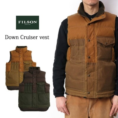 FILSON フィルソン グースダウンベスト Allied Feather & Down 全2色