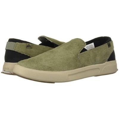 クイックシルバー Surf Check II Premium メンズ スニーカー 靴 シューズ Green/Grey/Green