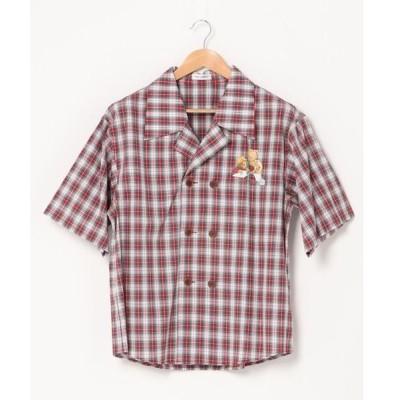 シャツ ブラウス MBU ダブルシャツ
