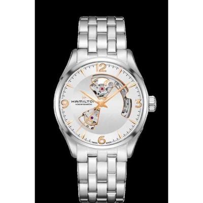ハミルトン 腕時計 Hamilton Jazzmaster Open Heart Auto ST Steel Silver Dial メンズ Watch H32705151