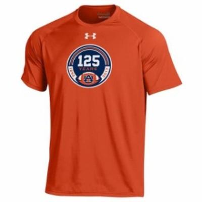Under Armour アンダー アーマー スポーツ用品  Under Armour Auburn Tigers Orange Tiger Walk Tech T-Shirt