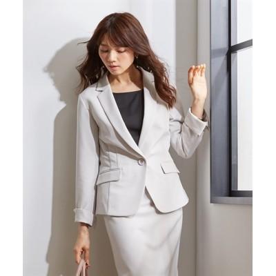 【ダブルクロスシリーズ】タテヨコストレッチテーラードジャケット(上下別売スーツ) 【レディーススーツ】通勤・社会人・リクルートスーツ, Women's Suits