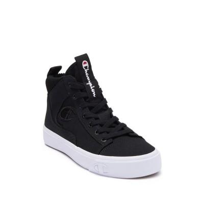 チャンピオン レディース スニーカー シューズ Gem Hi Top Classic Sneaker BLACK