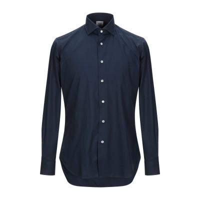 920 ITALIAN STYLE シャツ ダークブルー 38 コットン 100% シャツ