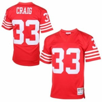Mitchell & Ness ミッチェル アンド ネス スポーツ用品  Mitchell & Ness Roger Craig San Francisco 49ers Cardinal Re