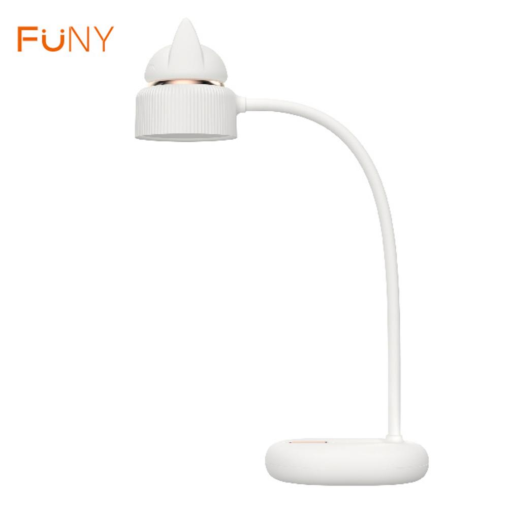 FUNY 萌貓檯燈-白