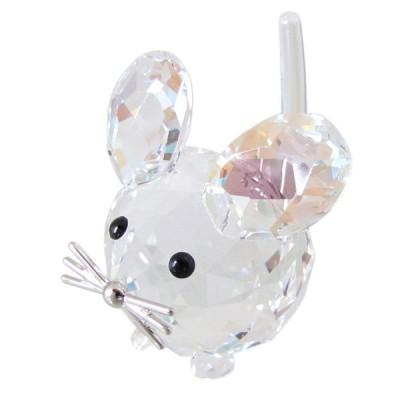 スワロフスキー SWAROVSKI フィギュリン Replicas レプリカマウス ネズミ フィギュア オブジェ 置物 5492738