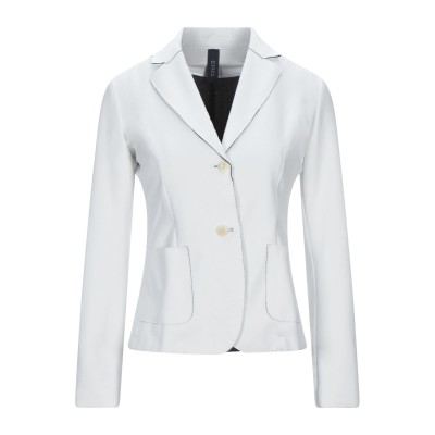 ERO テーラードジャケット ホワイト 42 ポリエステル 53% / コットン 43% / ポリウレタン 4% テーラードジャケット