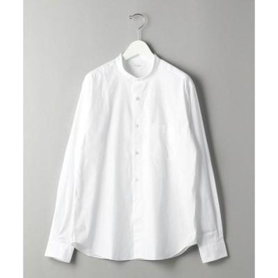 シャツ ブラウス BY 70/2 ブロード バンドカラー シャツ