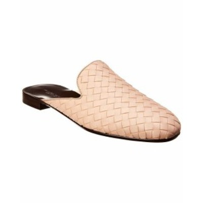 bottega ボッテガ シューズ シューズ/サンダル Bottega Veneta Fiandra Intrecciato Leather Slipper 37 Pink