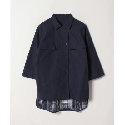LANVIN COLLECTION/ランバン コレクション バック切り替えシャツ ネイビー4 38