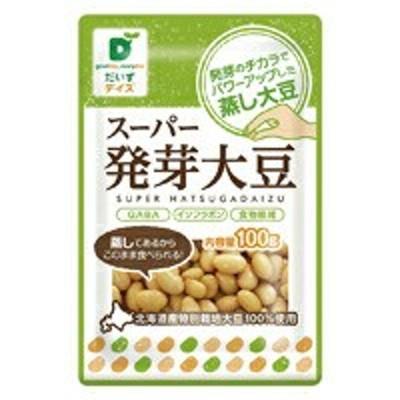 【送料無料(メール便)】スーパー発芽大豆 オーサワジャパン 100g