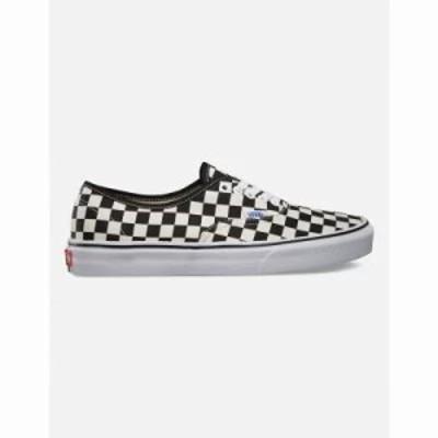 ヴァンズ スニーカー Authentic Golden Coast Checkerboard Shoes Black/White Checker