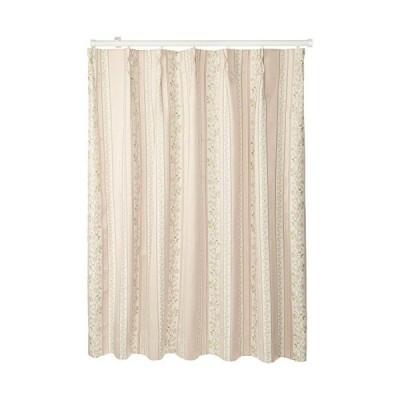 (ベルーナ)BELLUNA 「ブレア」防音・断熱・保温・1級遮光カーテン ピンク 約幅100×丈110cm(2枚組)