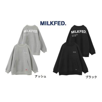MILKFED スウェット milkfed  トレーナー ミルクフェド  ヘビーウェイト カンガルー ポケット ロゴ 03193311