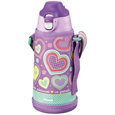 水筒・ボトル・ポリタンク ピーコック 2WAYボトル 0.8L パープルハート