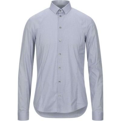 パトリツィア ペペ PATRIZIA PEPE メンズ シャツ トップス patterned shirt Dark blue
