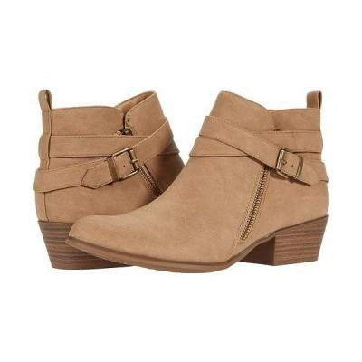 UNIONBAY ユニオンベイ レディース 女性用 シューズ 靴 ブーツ アンクル ショートブーツ Teddy - Tan