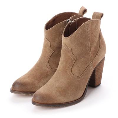 シューズラウンジ shoes lounge ショートブーツ 2511304BG (ベージュ)