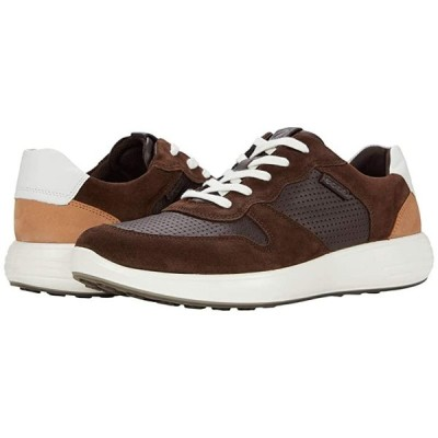 エコー Soft 7 Runner Retro Sneaker メンズ スニーカー 靴 シューズ Coffee/Mocha/White/Cashmere