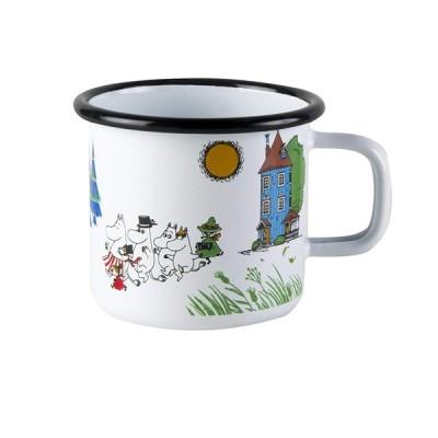 ムーミン ホーローマグカップ ムーミンヴィレッジ ムールラ(muurla)6923雑貨 北欧 食器 moomin グッズ