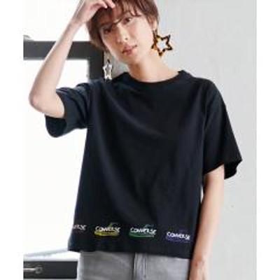 Ranan(ラナン)<コンバース>カラフルプリントTシャツ