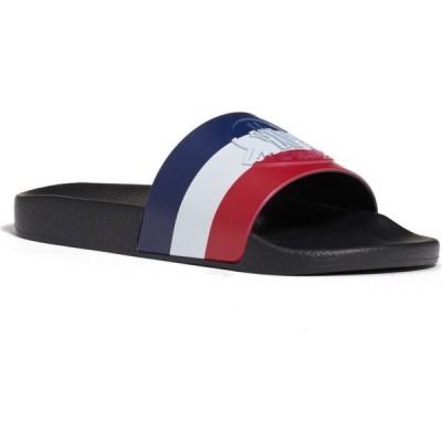 モンクレール MONCLER メンズ サンダル スライドサンダル シューズ・靴 Basile Slide Sandal Black/Black/Black