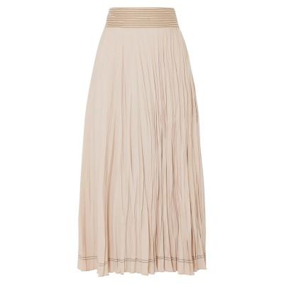 バーバラ・カサソラ CASASOLA 7分丈スカート ローズピンク 38 ナイロン 78% / シルク 22% 7分丈スカート