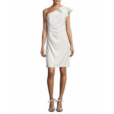 カーメンマークバルボインフュージョン レディース ワンピース Pleated Asymmetrical Sheath Dress