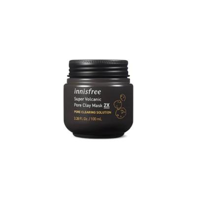 innisfree (イニスフリー) - スーパー 火山ソンイ 毛穴 マスク 2X (Super Volcanic Pore Clay Mask Original) [100ml] 韓国コスメ