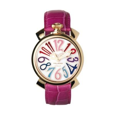 ガガミラノ 時計 マヌアーレ メンズ レディース ユニセックス 腕時計 GaGa MILANO Manuale 40mm 5021.1 シェル文字盤 クオーツ
