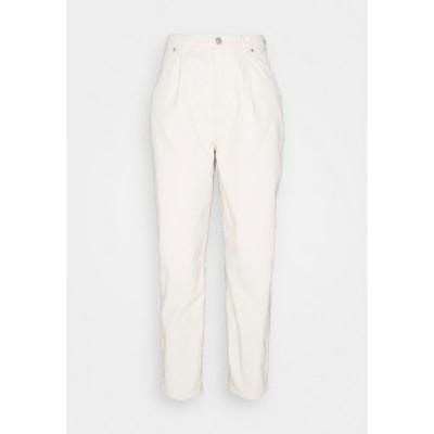オンリー レディース デニムパンツ ボトムス ONLLIVA SLOUCHY - Relaxed fit jeans - ecru ecru