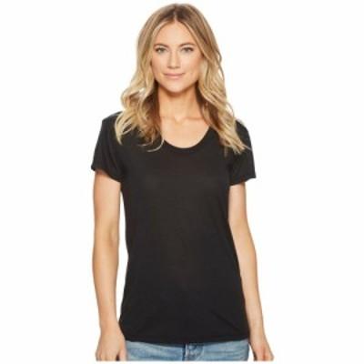 オルタナティヴ Alternative レディース Tシャツ トップス Kimber Short Sleeve Tee Black