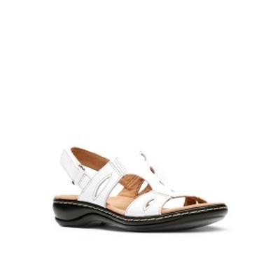 クラークス レディース サンダル シューズ Collection Women's Leisa Lakelyn Sandal White Leather