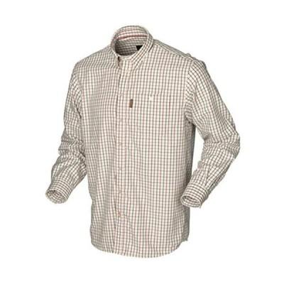 Harkila Stornoway Active Shirt - Burgundy Check XX-Large White