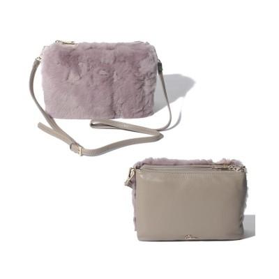 【サミールナスリ】 Fur 3pockets Bag レディース TAUPE F SMIR NASLI
