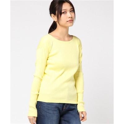 tシャツ Tシャツ M0656 ワイドリブスカラップネックロンT