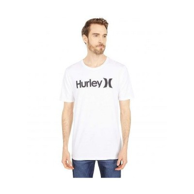 Hurley ハーレー メンズ 男性用 ファッション Tシャツ One & Only Solid Short Sleeve Tee - White