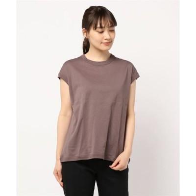 tシャツ Tシャツ 【handvaerk】クルーネック スリーブレスTシャツ SOLID WOMEN