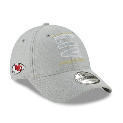 NFL チーフス キャップ/帽子 第54回 スーパーボウル 優勝記念 Parade 9FORTY Adjustable Hat ニューエラ/New Era グレー