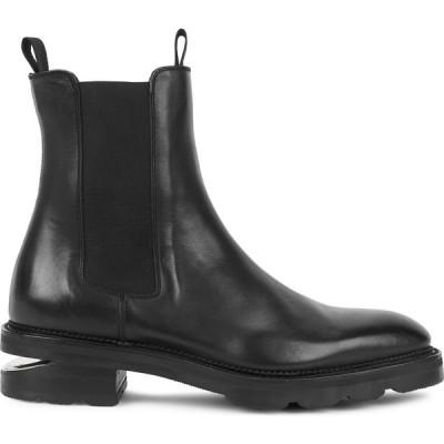 アレキサンダー ワン Alexander Wang レディース ブーツ チェルシーブーツ シューズ・靴 andy black leather chelsea boots Black