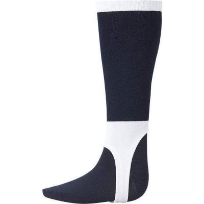 asics アシックス ストッキング(レギュラー) ネイビー×ホワイト ソックス 靴下 野球 BAE015-50A