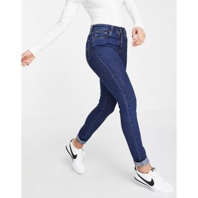 リーバイス Levi's レディース ジーンズ・デニム スキニー ボトムス・パンツ 721 High Rise Skinny Jeans In Mid Blue