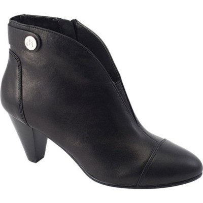 ダイビッドテイト ブーツ&レインブーツ シューズ レディース Ultra Ankle Bootie (Women's) Black Lambskin